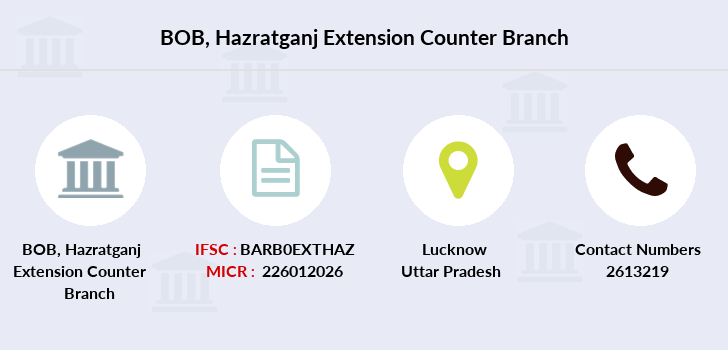 Bank-of-baroda Hazratganj-extension-counter-lucknow-up branch