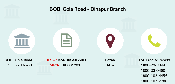 Bank-of-baroda Gola-road-dinapur branch
