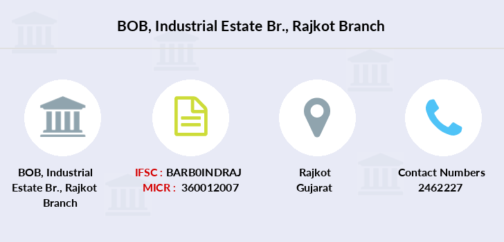 ifsc code of bank of baroda rajkot