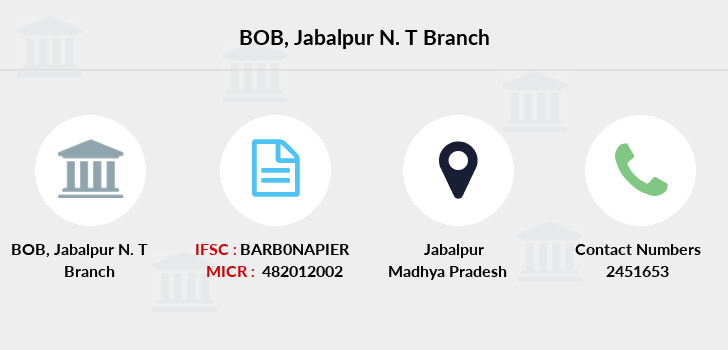 Bank-of-baroda Jabalpur-n-t branch