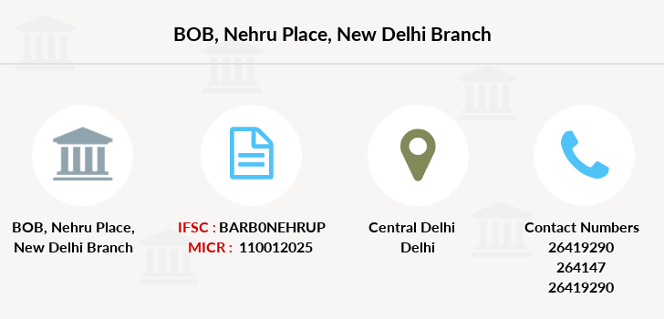 bank of baroda samalkha new delhi ifsc code