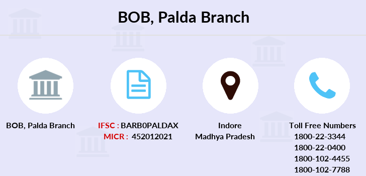 Bank-of-baroda Palda-indore-mp branch