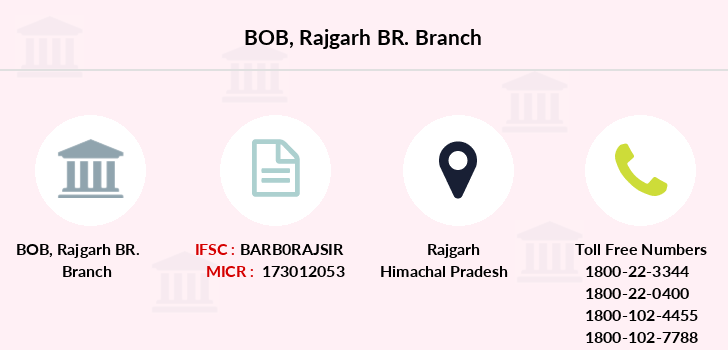 Bank-of-baroda Rajgarh-br branch