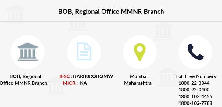 Bank-of-baroda Regional-office-mmnr branch