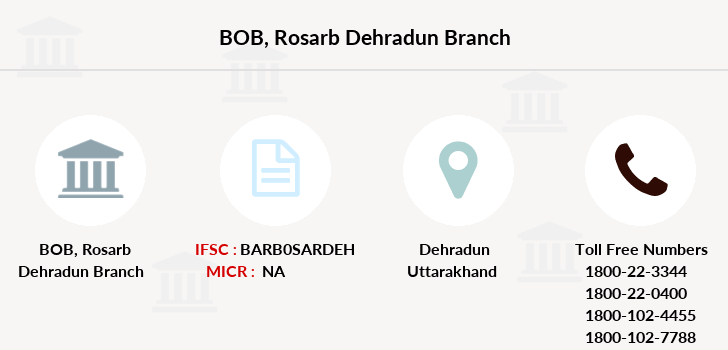 Bank-of-baroda Rosarb-dehradun branch