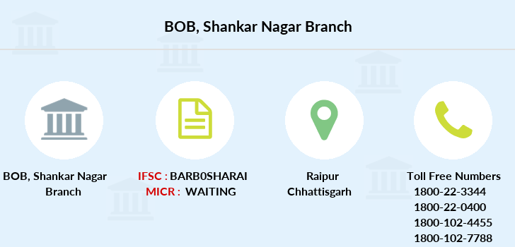 Bank-of-baroda Shankar-nagar branch