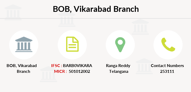 Bank-of-baroda Vikarabad-ap branch