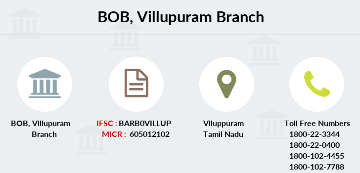 Bank-of-baroda Villupuram branch