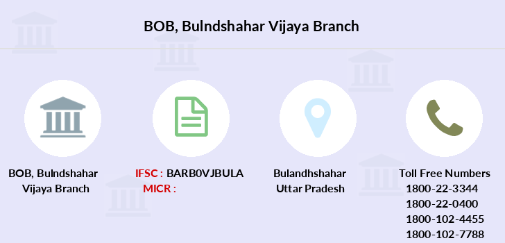 Bank-of-baroda Bulndshahar-vijaya branch