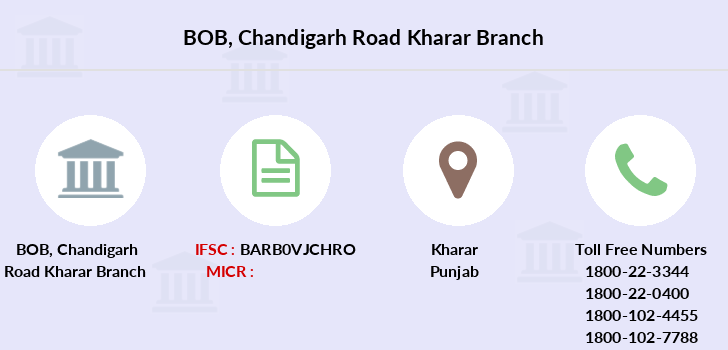 Bank-of-baroda Chandigarh-road-kharar branch