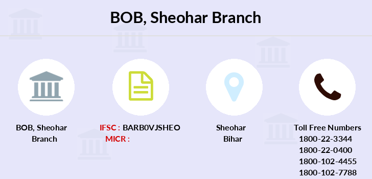 Bank-of-baroda Sheohar branch