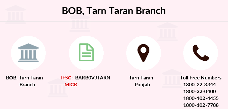 Bank-of-baroda Tarn-taran branch