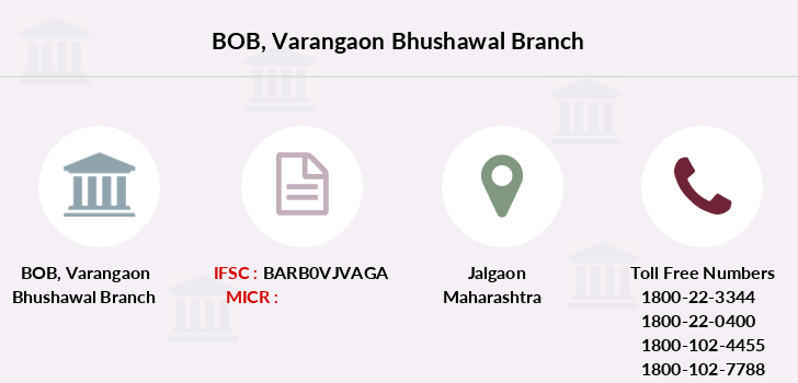 Bank-of-baroda Varangaon-bhushawal branch