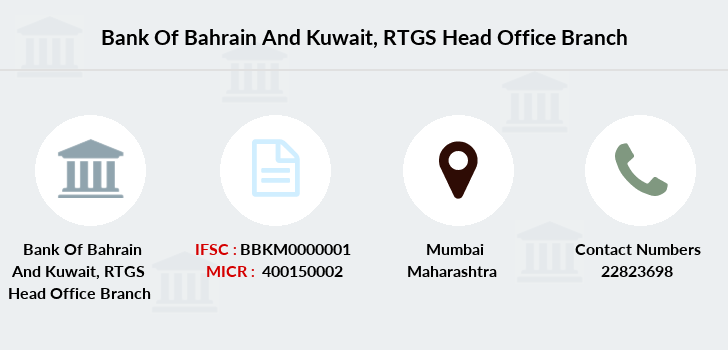 Bank-of-bahrain-and-kuwait Rtgs-head-office branch