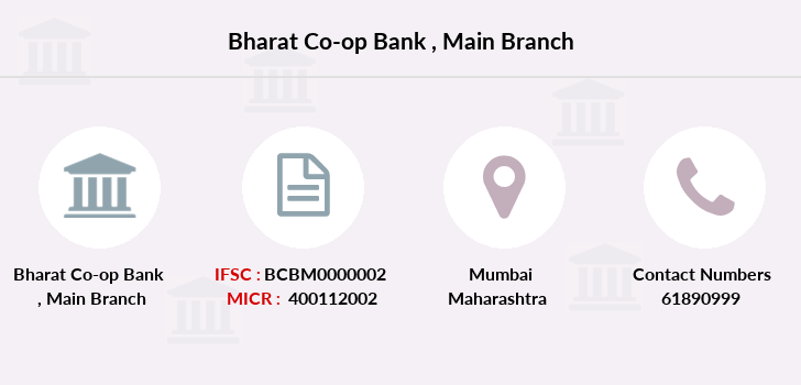 Bharat-co-op-bank Main branch