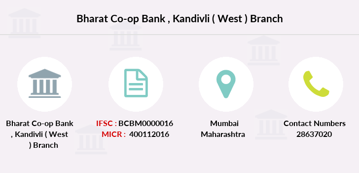 Bharat-co-op-bank Kandivli-west branch