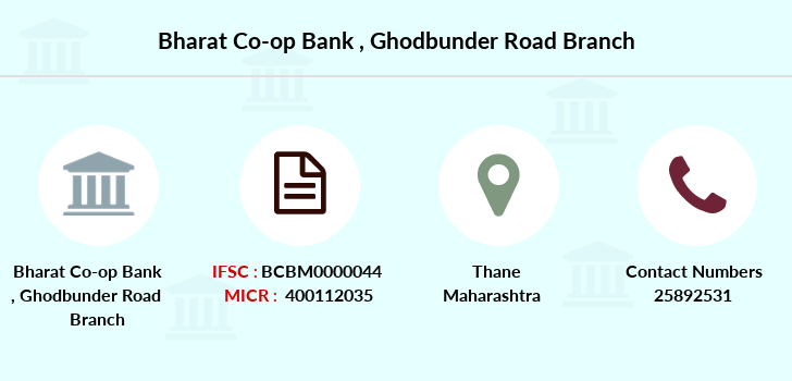 Co-operative-banks Ghodbunder-road branch