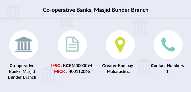 Co-operative-banks Masjid-bunder branch