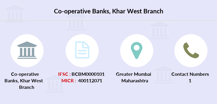 Co-operative-banks Khar-west branch