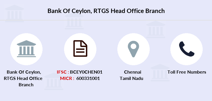Bank-of-ceylon Rtgs-head-office branch