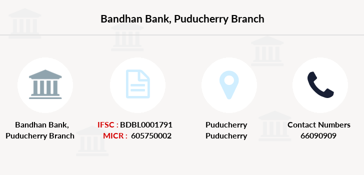 Bandhan-bank Puducherry branch
