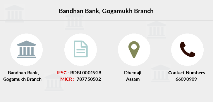 Bandhan-bank Gogamukh branch
