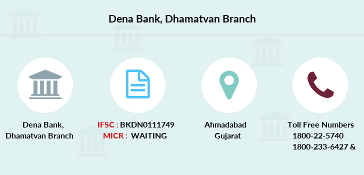 Dena-bank Dhamatvan branch