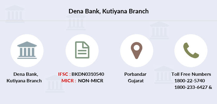 Dena-bank Kutiyana branch