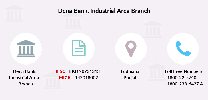 Dena-bank Industrial-area branch