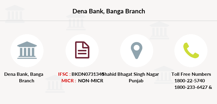 Dena-bank Banga branch