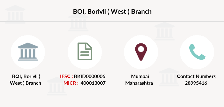 Bank-of-india Borivli-west branch