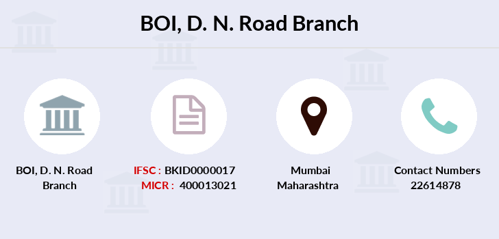 Bank-of-india D-n-road branch