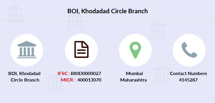 Bank-of-india Khodadad-circle branch
