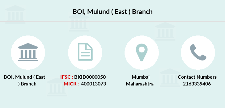 Bank-of-india Mulund-east branch