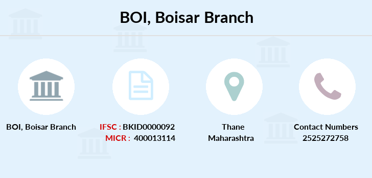 Bank-of-india Boisar branch
