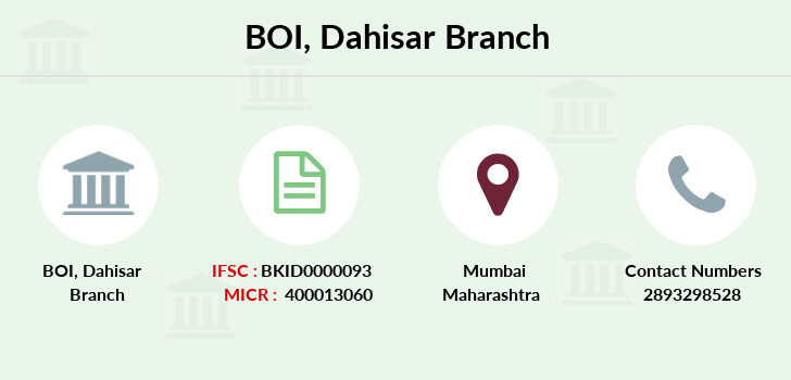 Bank-of-india Dahisar branch