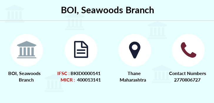Bank-of-india Seawoods branch