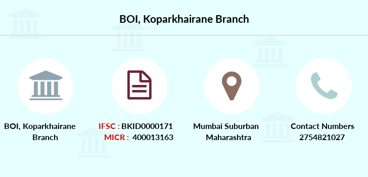 Bank-of-india Koparkhairane branch