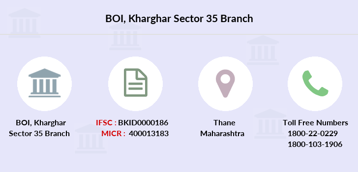 Bank-of-india Kharghar-sector-35 branch