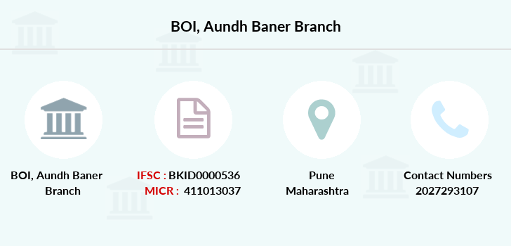Bank-of-india Aundh-baner branch