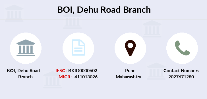 Bank-of-india Dehu-road branch
