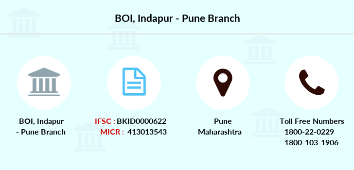 Bank-of-india Indapur-pune branch