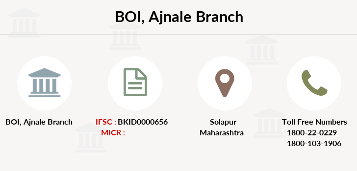 Bank-of-india Ajnale branch