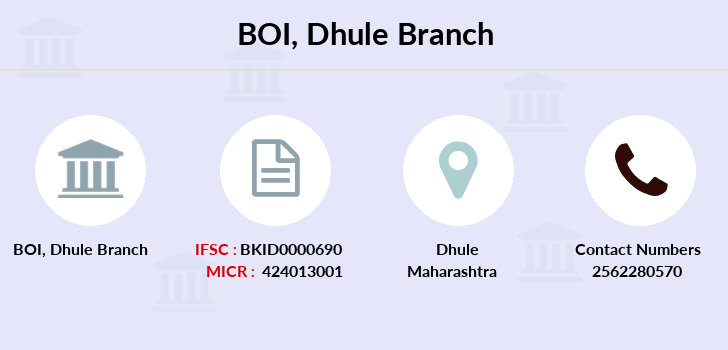 Bank-of-india Dhule branch