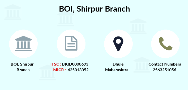 Bank-of-india Shirpur branch