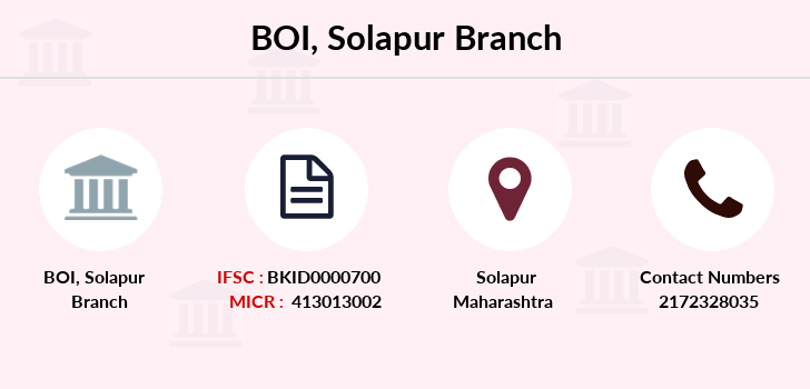 Bank-of-india Solapur branch