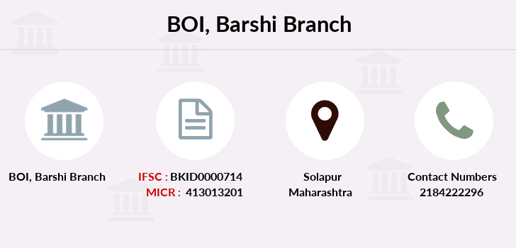 Bank-of-india Barshi branch
