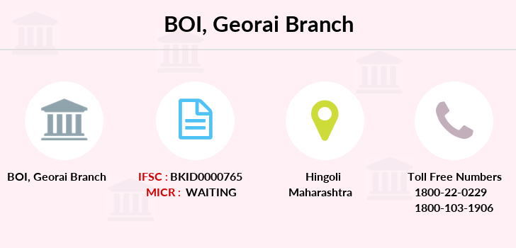 Bank-of-india Georai branch