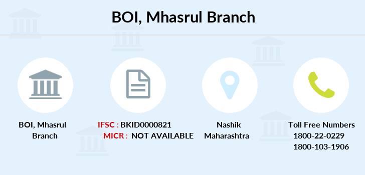 Bank-of-india Mhasrul branch