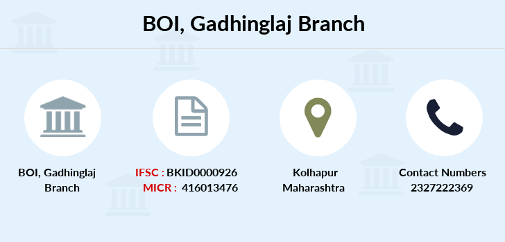 Bank-of-india Gadhinglaj branch